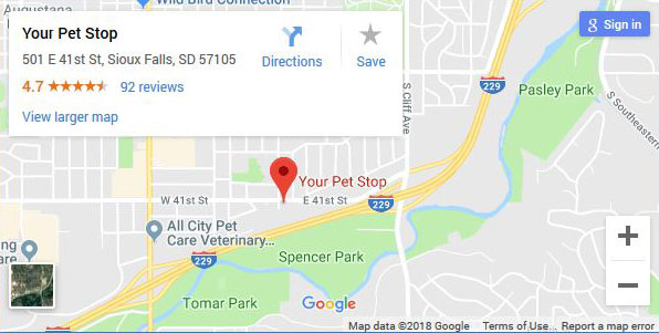 Your Pet Stop Location Sioux Falls
